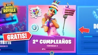 So will be the EVENT of the 2nd BIRTHDAY of FORTNITE!! 🎁 (FREE REWARDS!!)