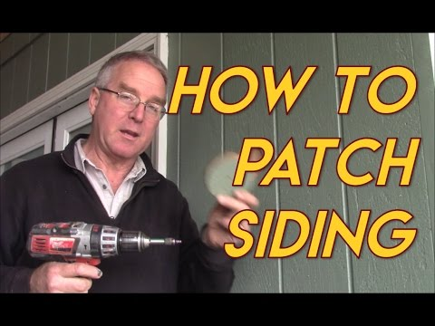 How to Patch Siding