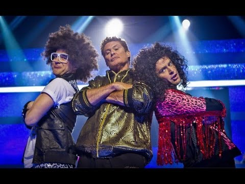 Scott Mills and Olly Murs Dance to 'Party Rock Anthem' - Let's Dance for Sport Relief 2012 - BBC One