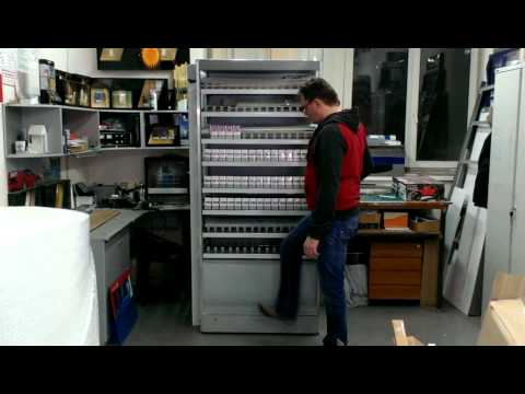 Дверь-шторка видео 01