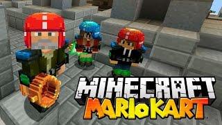 Minecraft | QUIERO UNA COPA!! | Minijuego MARIO KART