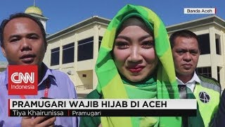 Download Video Pramugari Wajib Mengenakan Hijab di Aceh MP3 3GP MP4