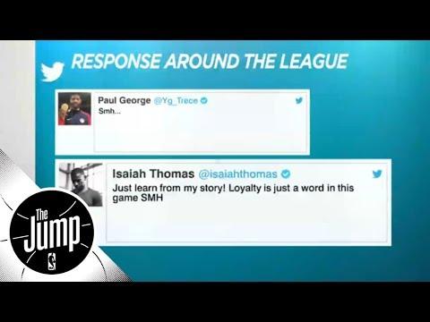 NBA players react to Kawhi Leonard and DeMar Derozan trade | The Jump | ESPN