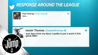 NBA players react to Kawhi Leonard and DeMar Derozan trade   The Jump   ESPN
