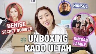 Download UNBOXING KADO ULTAH DARI DENISE SECRET NUMBER, KIMBAB FAMILY, KOREA REOMIT DAN BYK LAGI!