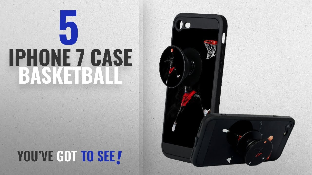 1b1cd0b5ec62 Top 5 IPhone 7 Case Basketball [2018 Best Sellers]: iPhone 7 Case, iPhone 8  Case with Pop up