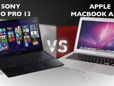 Prizefight - Sony Vaio Pro 13 vs. Apple MacBook Air 13-inch (2013)