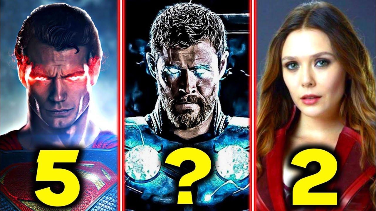 Download Top 10 Powerful Superheroes in Hindi    Top 10 most powerful Superheroes in MCU & DCEU    Ep 10