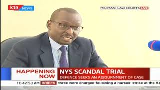 NYS scandal trial continues at Millimani Law courts