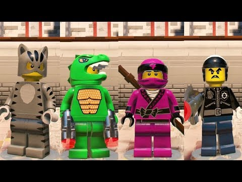 The LEGO Ninajgo Movie Videogame - Custom Characters (Meowtha ...