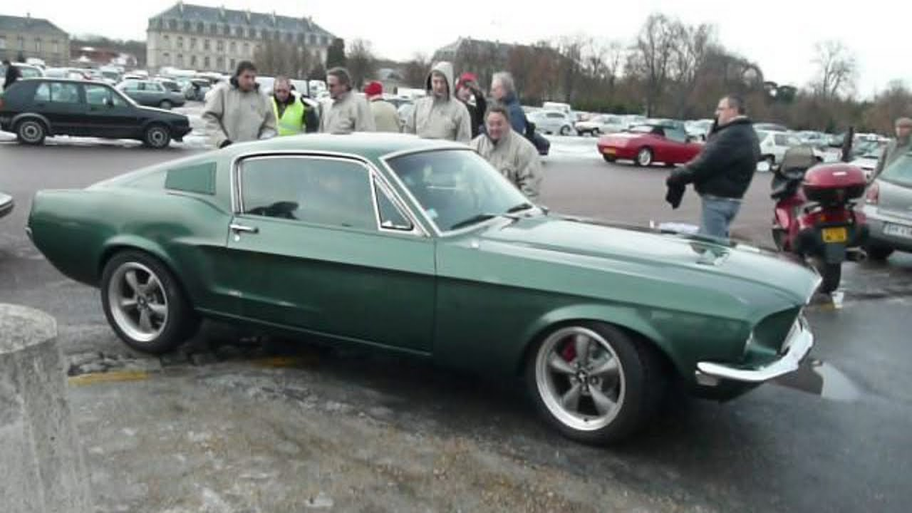 1968 1967 ford mustang fastback bullitt youtube. Black Bedroom Furniture Sets. Home Design Ideas