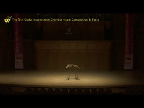 9th Osaka International Chamber Competition: Niobé Saxophone Quartet & Ardemus Saxophone Quartet
