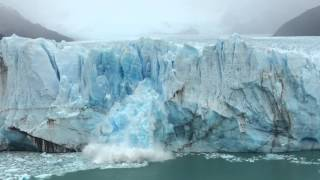 Perito Moreno Patagonia Glaciers ペリトモレーノ氷河 崩落の瞬間