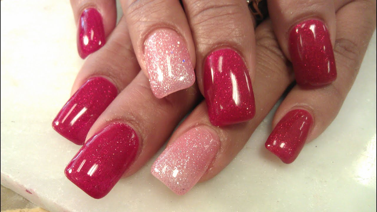 Super Fast Gel Fullset Nails Part 1
