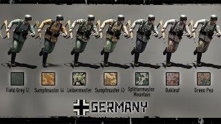 Heroes & Generals. German Camouflages. Герои и Генералы. Камуфляж Германии