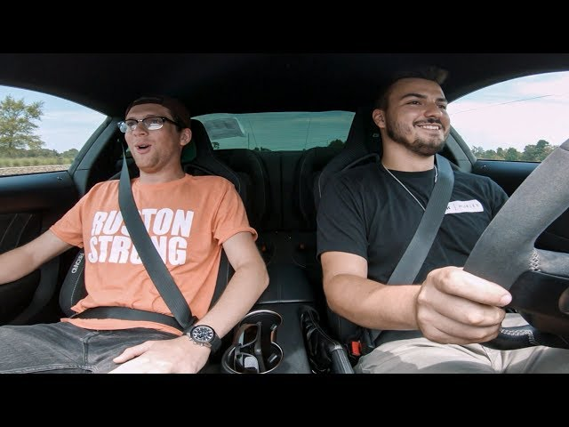 Their Priceless Reactions to Shelby GT350!