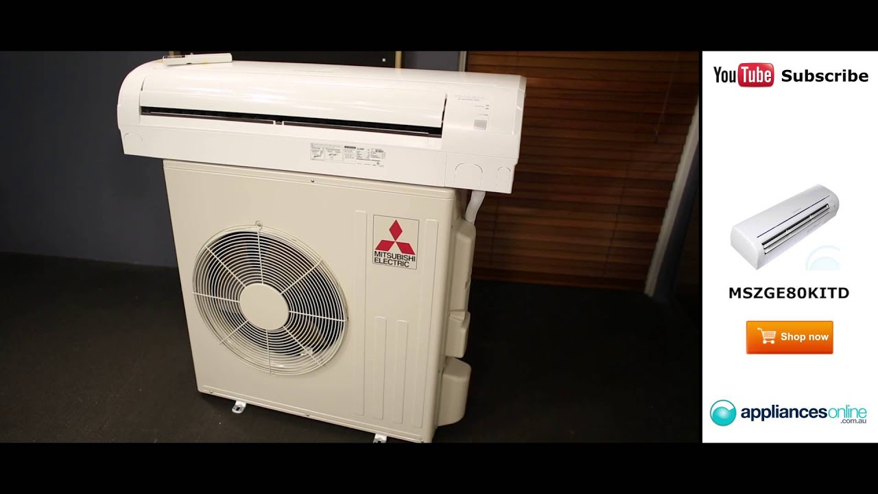 Split System Inverter Air Conditioner MSZGE80KITD Review   #BC6B0F