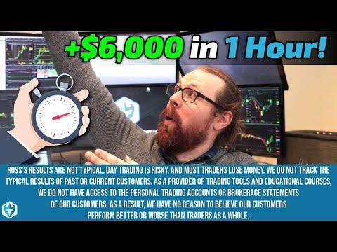 Over $6K in One Hour! | Ross' Trade Recap