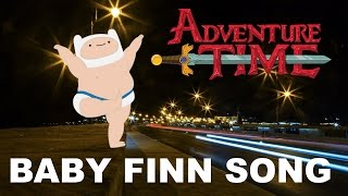 "Adventure Time ""Dancing Baby Finn Song"" done LIVE!"