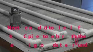 making liquid sand fluidized air bed