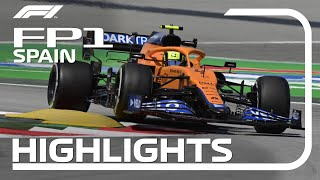 FP1 Highlights | 2021 Spanish Grand Prix