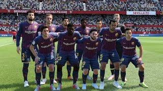 FIFA 19 | Sevilla vs FC Barcelona - Ramón Sánchez Pizjuán Stadium - (Full Gameplay Xbox One X)