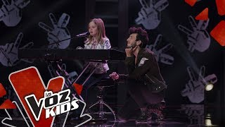 Hana canta How Far I'll Go – Audiciones a Ciegas | La Voz Kids Colombia 2019