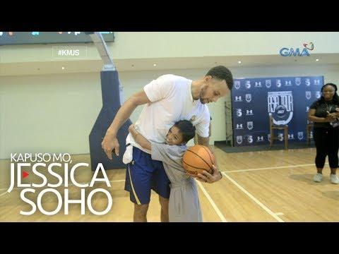 Kapuso Mo, Jessica Soho: 'Batang Steph Curry ng Pilipinas,' nakaharap ang kanyang NBA LODI!