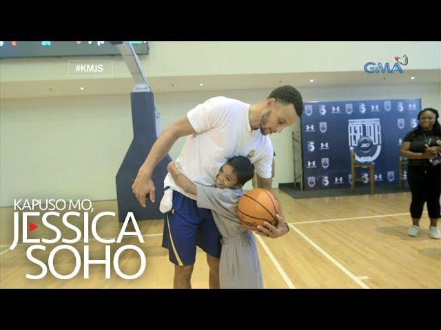 Kapuso Mo, Jessica Soho: Batang Steph Curry ng Pilipinas, nakaharap ang kanyang NBA LODI!
