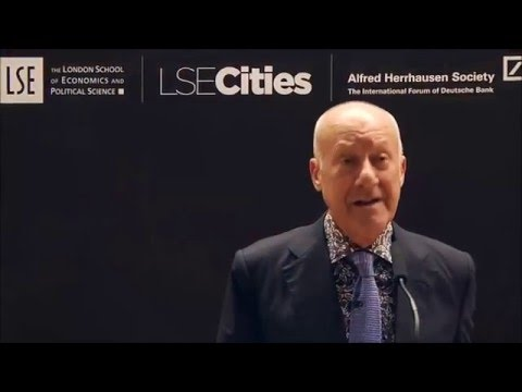 Designing Urban Infrastructure: Investing for now or tomorrow? - Norman Foster