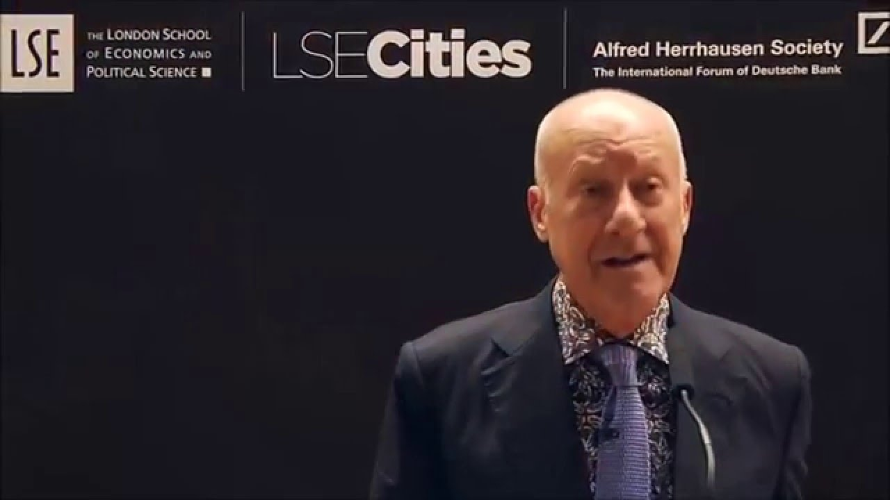 designing urban investing for now or tomorrow norman foster youtube