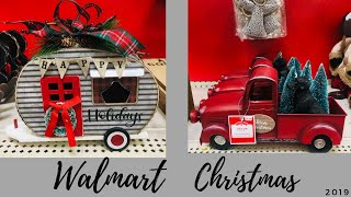 Walmart Christmas Decorations 2019 Shop with Me🎄