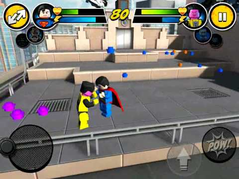 LEGO DC LEGO DC MARVEL SUPERHEROES | GAMES SUPERMAN,SINESTRO,LEX LUTHOR