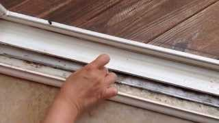 How to clean Sliding Door or Window tracks