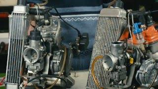 Дави в педали - классы двигателей в картинге