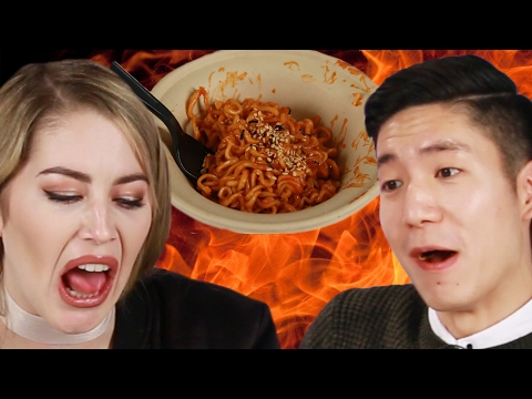 Thumbnail: People Try The World's Spiciest Instant Noodle