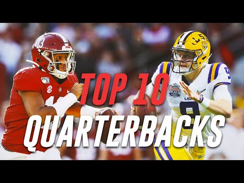 Top 10 Quarterbacks in the 2020 NFL Draft