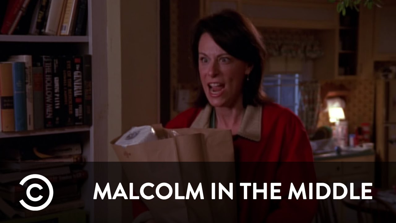 Malcolm In The Middle Christmas.Lois Cancels Christmas Malcolm In The Middle