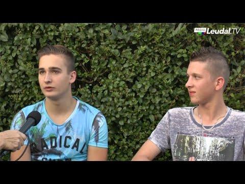 Joep Reijnen en Kay Wijers uit Neer zijn zangtalenten!
