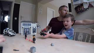 Playmobil Police Station Toy Review