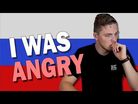 Angry Russian words