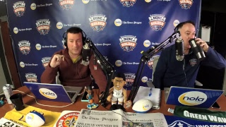 Dunc and Holder on Sports 1280 in New Orleans. March 9; 2018.