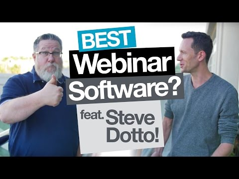Best Webinar Software for you? Feat. Steve Dotto