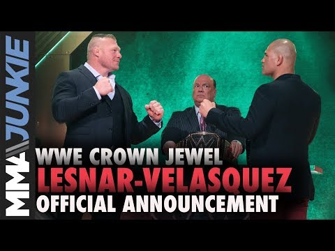 Brock Lesnar, Cain Velasquez To Meet At WWE Crown Jewel 2019