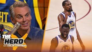 Colin Cowherd breaks down Draymond Green's 1-game suspension from the Warriors | NBA | THE HERD