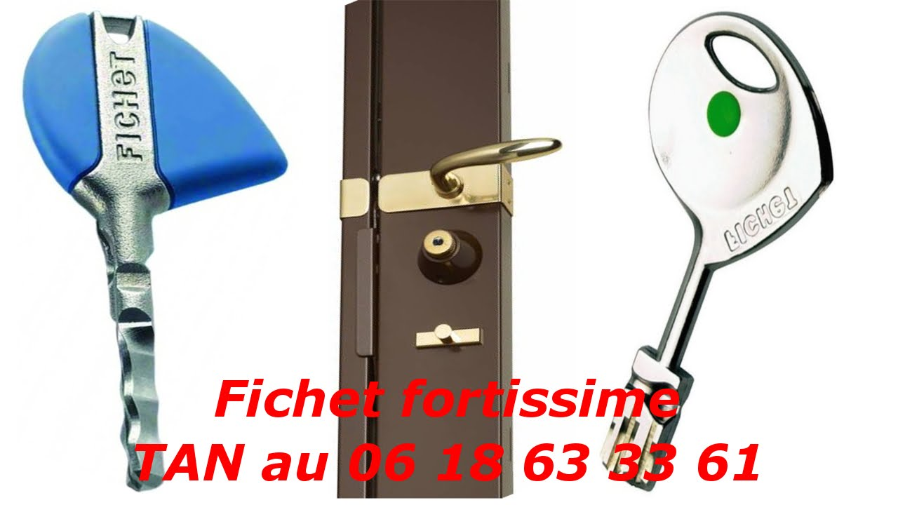 tuto comment changer une serrure fichet fortissime cylindre fichet fortissime youtube. Black Bedroom Furniture Sets. Home Design Ideas