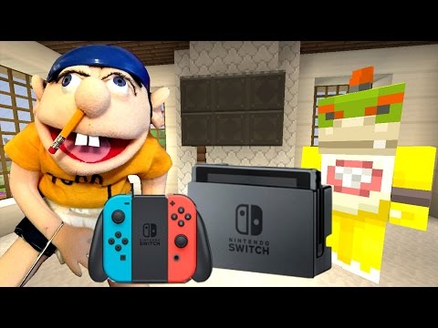 """Minecraft Wii U - Nintendo Fun House - JEFFY""""S  NINTENDO SWITCH [37]"""