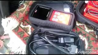 Диагностика и сброс ошибки SRS, Airbag Mitsubishi Pajero с помощью сканера Ancel ad610