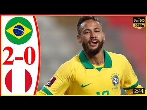 Download World Cup qualifiers Match 2021    Brazil Vs Peru    World cup 2022    Football World