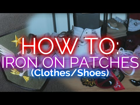 DIY! | CDG Plaay x CONVERSE | How To Iron on Patches!